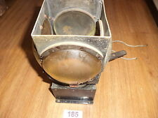 VINTAGE ELECTRICAL LAMP LIGHT DOMED LENS Signalling railway shipping