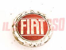 FREGIO STEMMA MASCHERINA IN METALLO FIAT 127 SPORT 131 128 RITMO CABRIO ABARTH