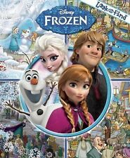 Disney Frozen Look and Find by Publications International (2012, Hardcover)