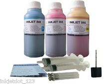 3x250ml color refill ink for Canon CL-241 MX512 MX432 MX372 CMY