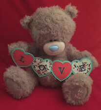 """ME TO YOU BEAR TATTY TEDDY X LARGE 20"""" LOVE STRING OF HEARTS BANNER BEAR GIFT"""