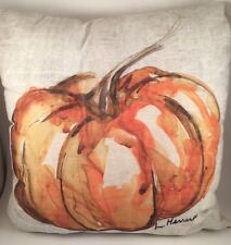 "Pottery Barn Pumpkin Patch 20"" Pillow Cover & Insert NEW Fall Decor Halloween"