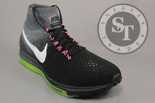 NIKE ZOOM ALL OUT FLYKNIT 844134-002 BLACK WHITE COOL GREY DS SIZE: 12