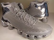 Nike Shox TLX Mid SP Silver Reflect Chrome 3M SZ 10.5 (677737-003)