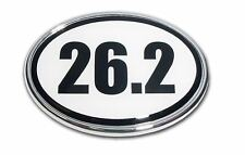 26.2 Marathon Chrome Plated Car Auto Truck Emblem Made in the USA! NEW