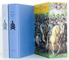 GENERALS in BLUE & GRAY 2 Volumes Slipcase Civil War Union Confederate Box Set