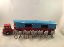 Corgi Toys no. 1130 Chipperfields Circus Horse Transporter ovp !