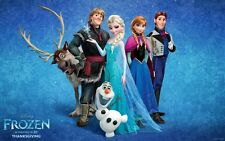 FROZEN CHARACTER MACHINE EMBROIDERY DESIGNS ON CD  IN PES/JEF/EMD/HUS & VP3