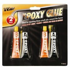 X2 Epoxy Glue Adhesive Clear Strong Resin Plastic Ceramic Glass Rubber Metal