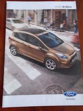 Ford B-Max range brochure Apr 2012