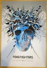 2015 Foo Fighters - Perth Silkscreen Concert Poster s/n by Ken Taylor