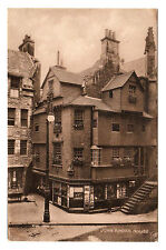 John Knox House Edinburgh - W J Hay Photo Postcard 1910