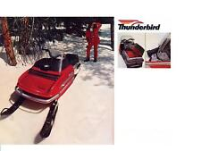 CHAPARRAL SNOWMOBILE PARTS MANUALS for 1973 SS III Firebird Thunderbird Service