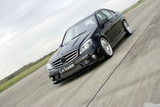 Mercedes Benz W204 C63 add Carlsson style front lip spoiler Made in Taiwan