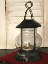 Prim TEA LIGHT STEEPLE Candle LANTERN    ONLY candle NOT included
