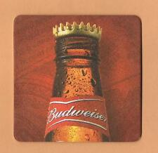 Budweiser Beer Mat Coaster King of Beers Anheuser Busch
