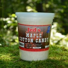 VERMONT MAPLE COTTON CANDY - 3 TUBS - ORGANIC MAPLE SYRUP