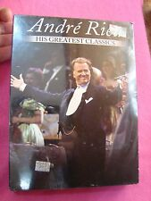 ANDRE RIEU André Rieu HIS GREATEST CLASSICS 3 DVD`s +2 CD`s Mexico Edition new