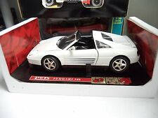 "Ferrari 348 White MIRA ""RARE"" 1/18 Scale Model DieCast Car Rare ut Tr Mira Spain"