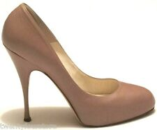 $575 Brian Atwood Shoes Pumps Nude Tonya Scarpa Carpetto Stefenil 38.5 8.5