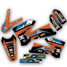 1998 - 2007 KTM LC4 GRAPHICS MOTOCROSS DIRT BIKE ENDURO DECALS 21 MIL THICK