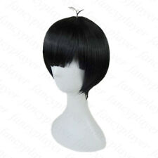 Osomatsu-San Osomatsu Matsuno Karamatsu Short Black Wig Boy Male Cosplay Hair