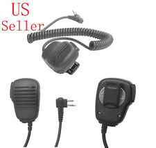 Heavy Duty Hand/Shoulder Mic Speaker For Motorola Radio P1225 P1225LS PR400