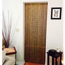 Natural Bamboo Beaded Handmade Curtain Beads Window Door Shoji Room Divider NEW