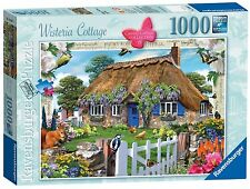 RAVENSBURGER PUZZLE*1000 TEILE*COUNTRY COTTAGE 6*WISTERIA COTTAGE*RARITÄT*OVP
