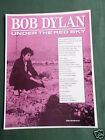 BOB DYLAN - MAGAZINE CLIPPING / CUTTING- 1 PAGE ADVERT