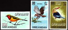 Jordanien Jordan 1964 ** Mi.490/92 B Vögel Birds Oisseaux