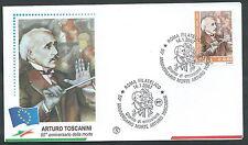 2007 ITALIA FDC FILAGRANO ARTURO TOSCANINI - FG2007-2