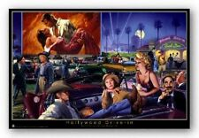 POSTER Hollywood Drive In Marilyn Monroe Groucho Marx