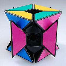 US LanLan Edge Only Void Speed Puzzle Magic Cube Blk Game Gift Toy Twist Smooth