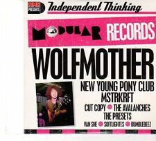 (FP893B) Modular Records, Wolfmother etc, 11 tracks various artists - NME CD