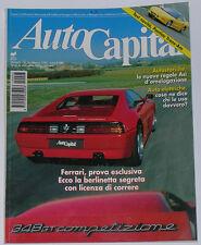AUTOCAPITAL 3/1994 FERRARI 348 GTC – MERCEDES C36 AMG – MINI COOPER – FORMULA 3