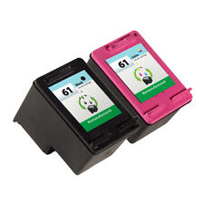 2 Pack HP 61 Ink Cartridge - Deskjet 1000 Deskjet 1050 Deskjet 2050 Printer