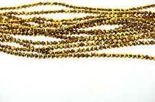 Full Strand Crystal ROUND Beads BRIGHT GOLD 4mm about 80 beads bgl0533