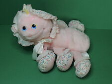 LOTS A LOTS A LEGGGGGGS Peluche Mille Pattes Rose Chenille vintage 80's