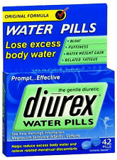 Diurex  Water Pills with Caffeine - 42 tablets