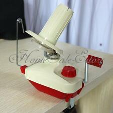Portable Hand-Operated Yarn Winder Fiber Wool String Thread Skein Ball Machine