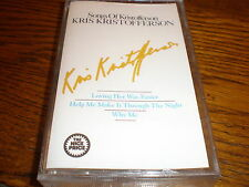 Kris Kristofferson CASSETTE Songs Of Kristofferson
