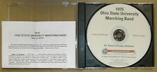 Ohio State Marching Band, 1975 season shows and Rose Bowl now on DVD!