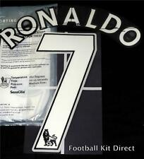 Manchester United Ronaldo 7 Name/Number Set Football Shirt Lextra 07-13