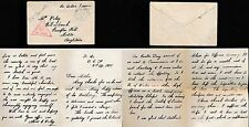 GB WW1 LETTER 1915 EASTER PRINCE of WALES + BISHOP of LONDON..BEF APO 540 CENSOR