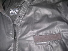 Member's Members Only Jacket BLACK USED SIZE 46 HIPSTER BOMBER Vintage
