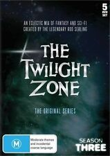 THE TWILIGHT ZONE - ORIGINAL SERIES - SEASON 3 = 5 DVD SET - 1960's NEW & SEALED