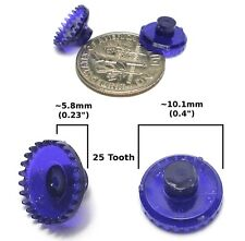 2pc TYCO 440-X2 440-X3! HO Slot Car DELRIN 25T CROWN GEAR Factory UN-DRILLED OEM