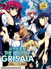 The Fruit of Grisaia (TV 1 - 13 End) DVD + EXTRA DVD