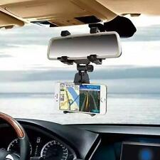 Universal Auto Car Rearview Mirror Mount Holder Stand Cradle For Cell Phone GPS
